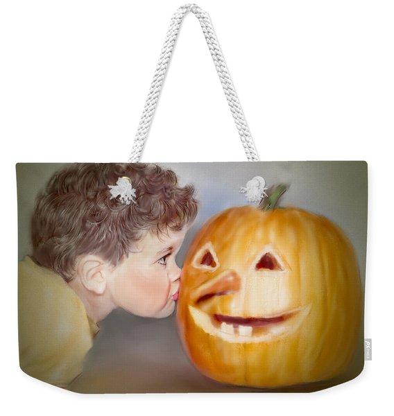 Kissy Face2 Weekender Tote Bag