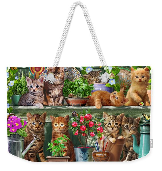 Kitchen Cats Weekender Tote Bag