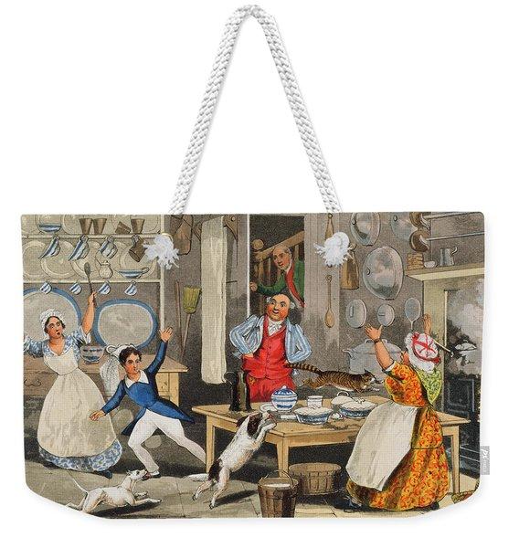 Kitchen Scene Weekender Tote Bag