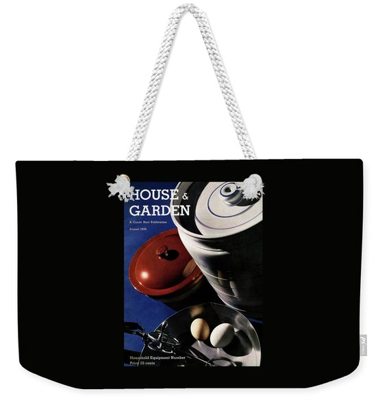 Kitchenware And Eggs Weekender Tote Bag