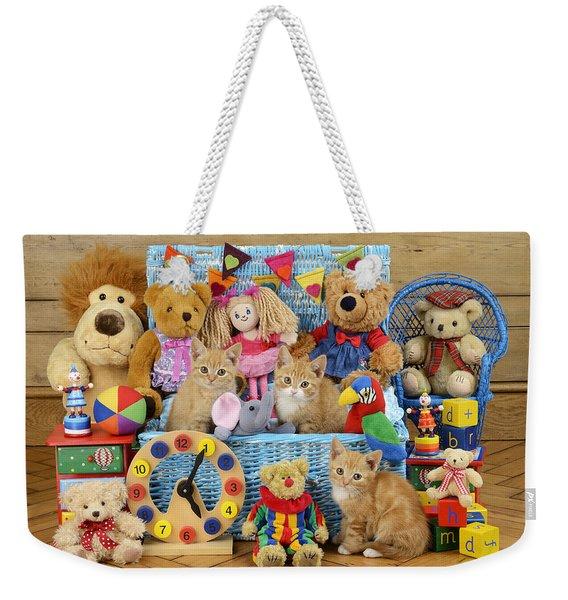 Kitten Dress Box Ck526 Weekender Tote Bag