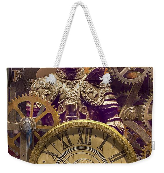 Knight Time Weekender Tote Bag