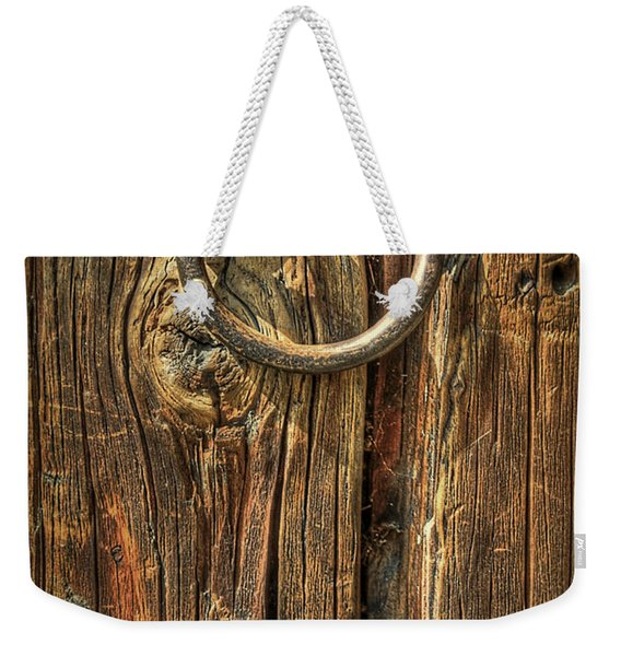Knock On Wood Weekender Tote Bag