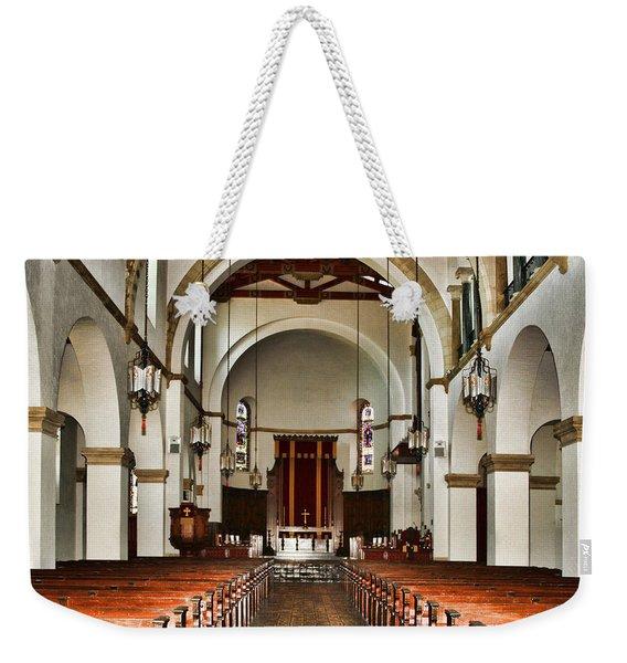 Knowles Memorial Chapel Rollins College 2 By Diana Sainz Weekender Tote Bag