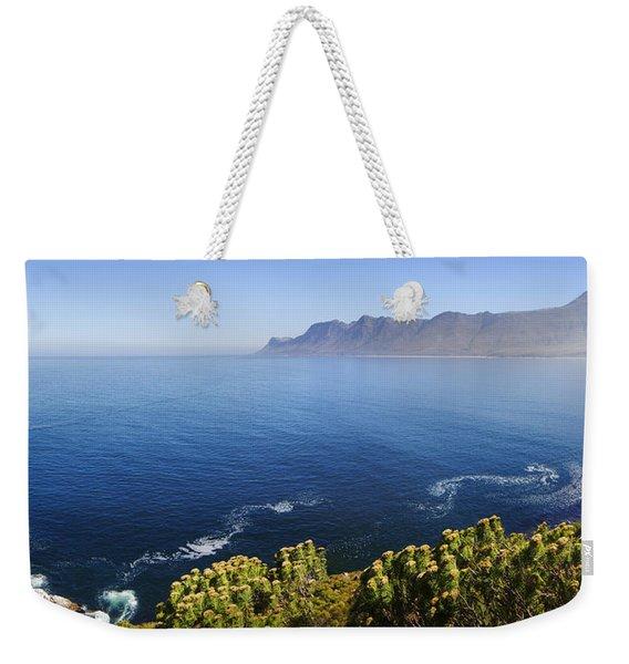 Kogelberg Area View Over Ocean Weekender Tote Bag