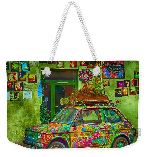Color On The Road Weekender Tote Bag