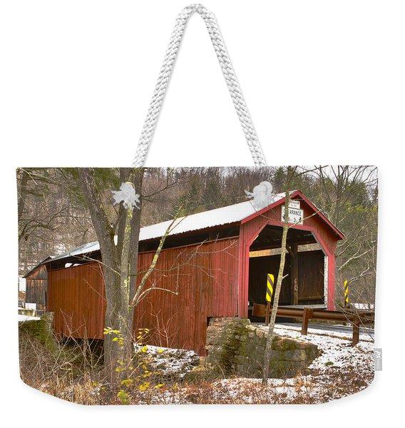 Krickbaum Bridge  Weekender Tote Bag