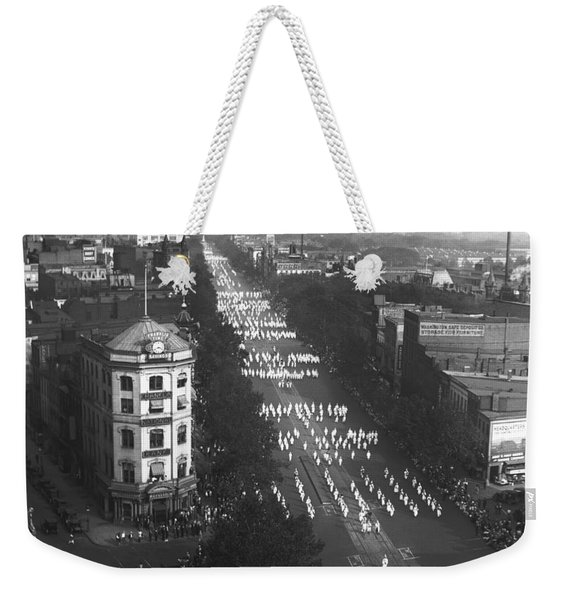 Ku Klux Klan Parade Weekender Tote Bag