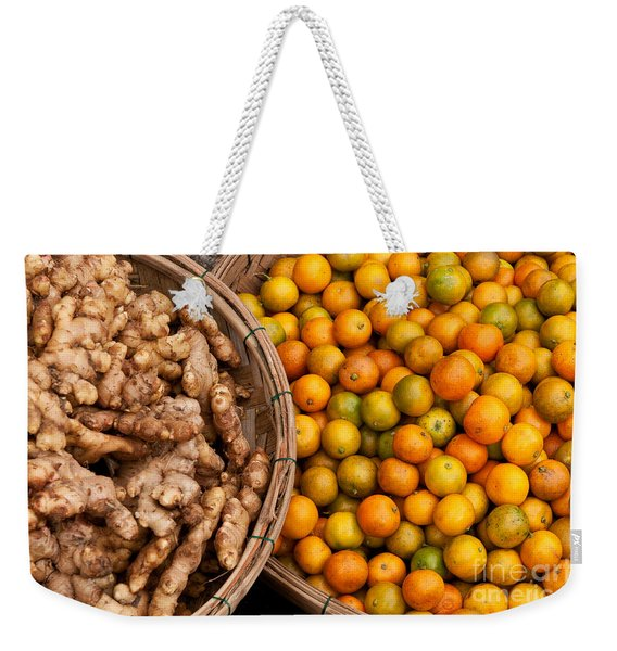 Kumquats And Ginger Weekender Tote Bag