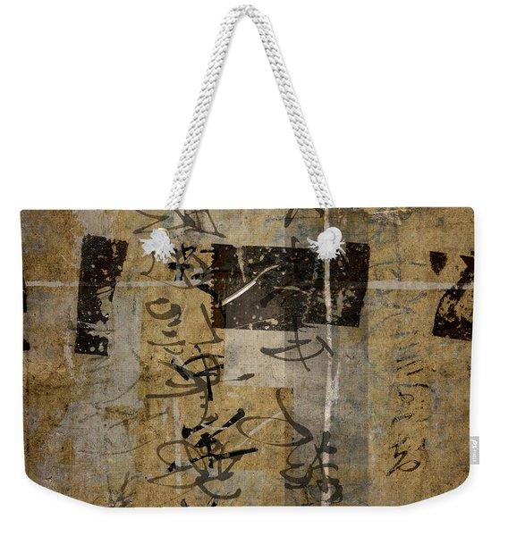 Kyoto Wall Weekender Tote Bag