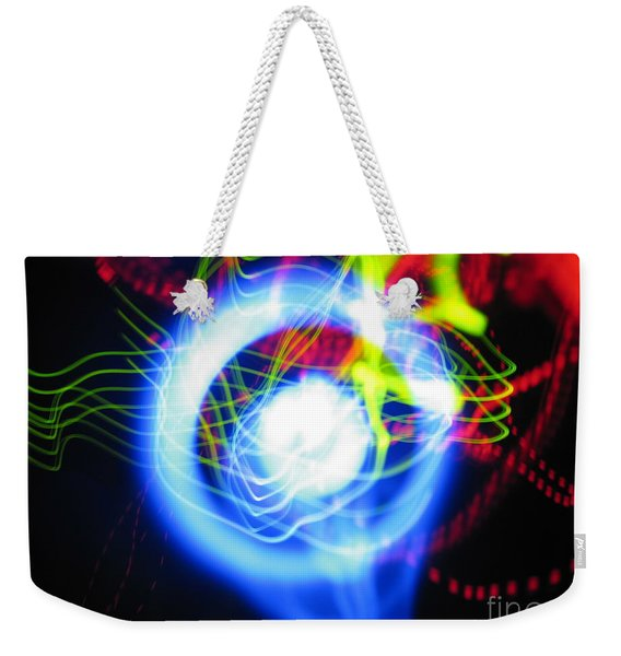 L E D Painting 0256 Weekender Tote Bag