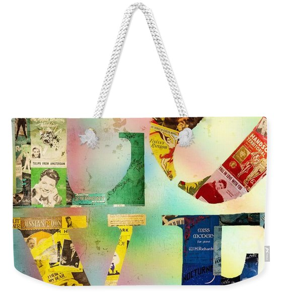 L O V E Weekender Tote Bag