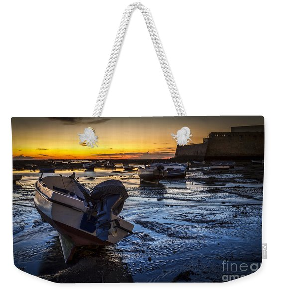La Caleta Beach Cadiz Spain Weekender Tote Bag