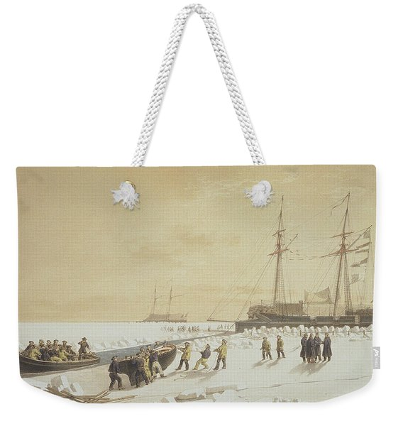La Cannonniere Weighing Anchor Weekender Tote Bag