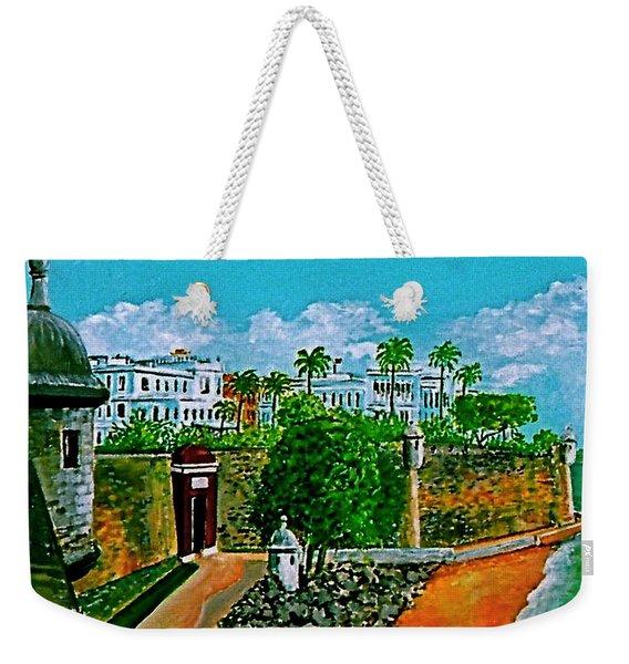 La Fortaleza San Juan Puerto Rico Weekender Tote Bag