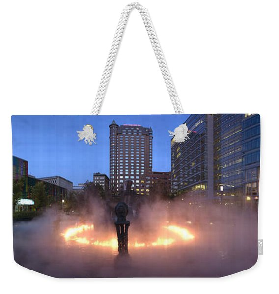 La Joute By Jean-paul Riopelle Weekender Tote Bag