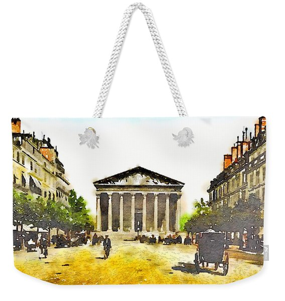 La Madeleine 1890 Weekender Tote Bag
