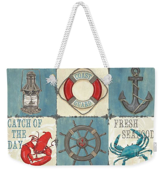 La Mer Collage Weekender Tote Bag