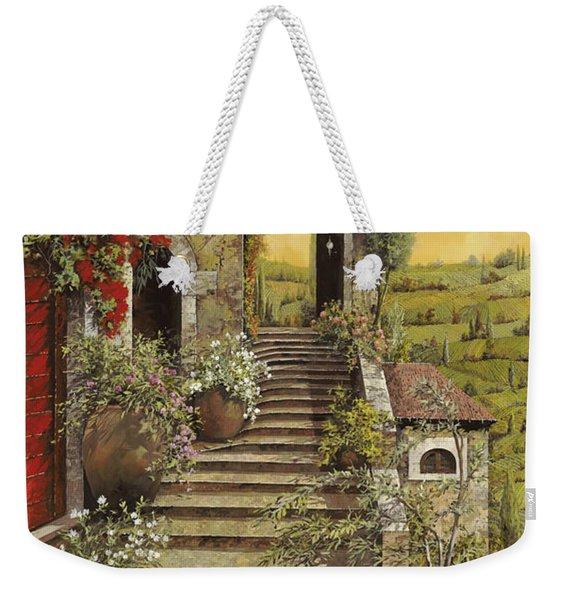 La Scala Grande Weekender Tote Bag