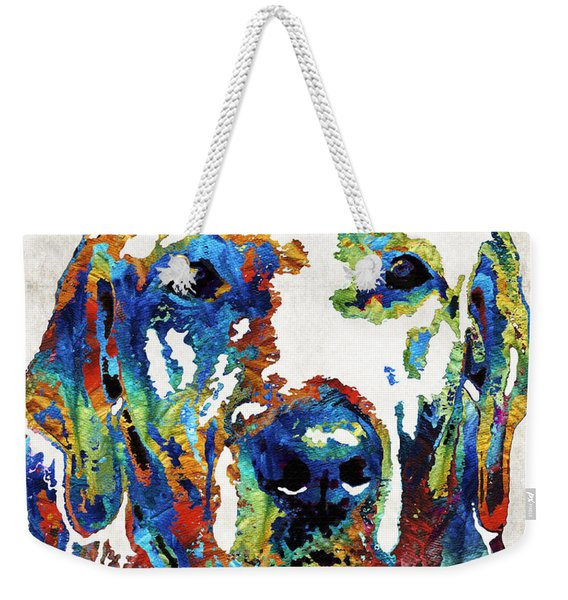 Labrador Retriever Art - Play With Me - By Sharon Cummings Weekender Tote Bag