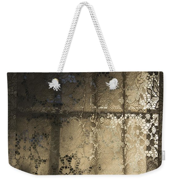 Lace Curtain 1 Weekender Tote Bag