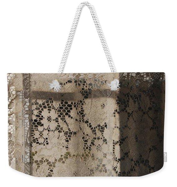 Lace Curtain 2 Weekender Tote Bag