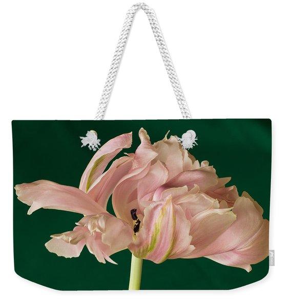 Lacey Tulip Weekender Tote Bag