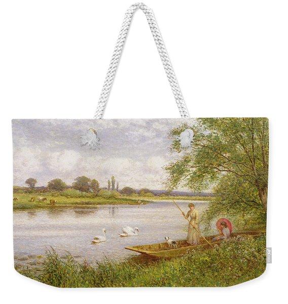 Ladies In A Punt Weekender Tote Bag