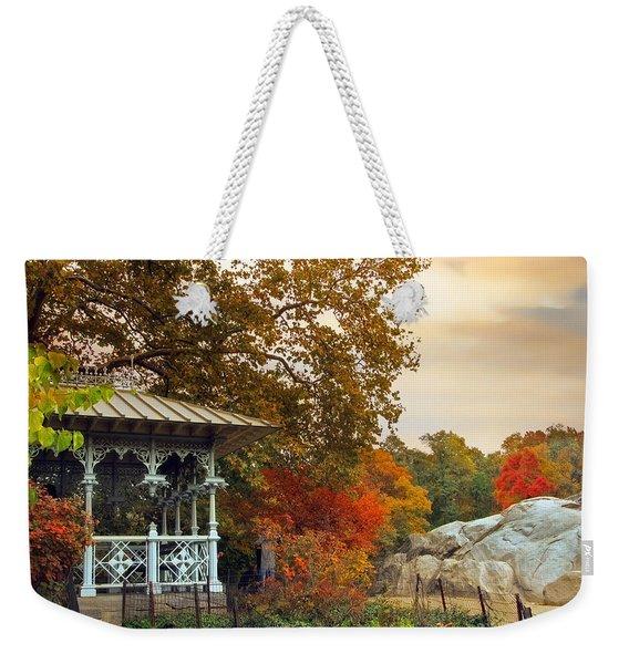 Ladies Pavilion In Autumn Weekender Tote Bag