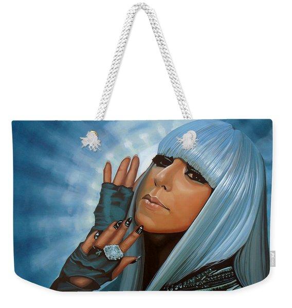Lady Gaga Painting Weekender Tote Bag