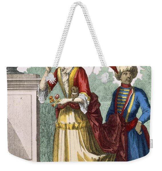 Lady In Summer Dress, C.1690-1700 Weekender Tote Bag