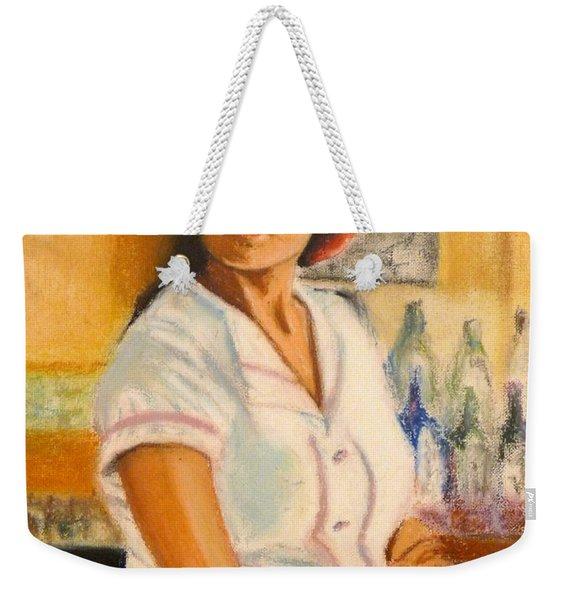 Lady In Waiting Weekender Tote Bag