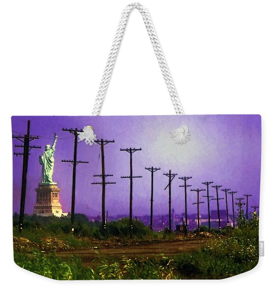 Lady Liberty Lost Weekender Tote Bag