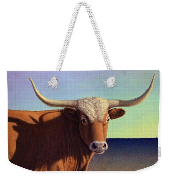 Lady Longhorn Weekender Tote Bag