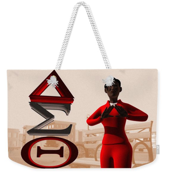 Lady Of Dst Weekender Tote Bag