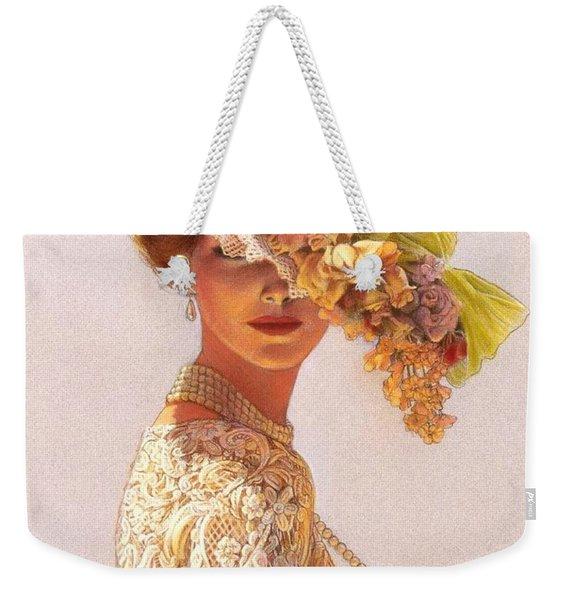 Lady Victoria Victorian Elegance Weekender Tote Bag
