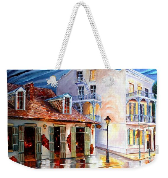 Lafitte's Guest House On Bourbon Weekender Tote Bag