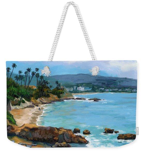 Laguna Beach Winter Weekender Tote Bag