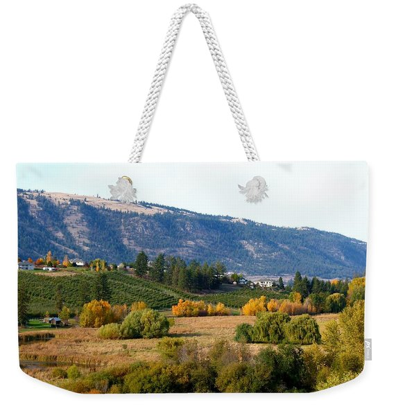 Lake Country Landscape Weekender Tote Bag