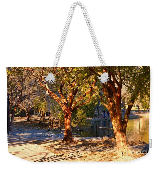 Lake Ella Trail Weekender Tote Bag