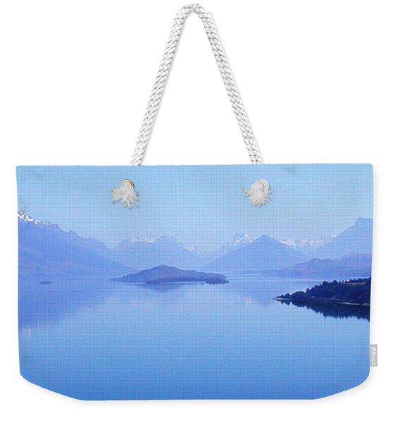 Lake Glenorchy New Zealand Weekender Tote Bag