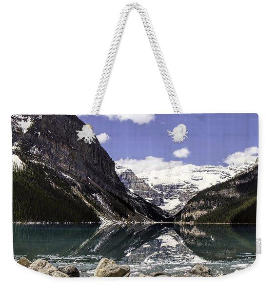 Lake Louise 9 Weekender Tote Bag