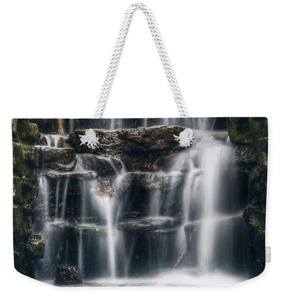 Lake Park Waterfall 2 Weekender Tote Bag