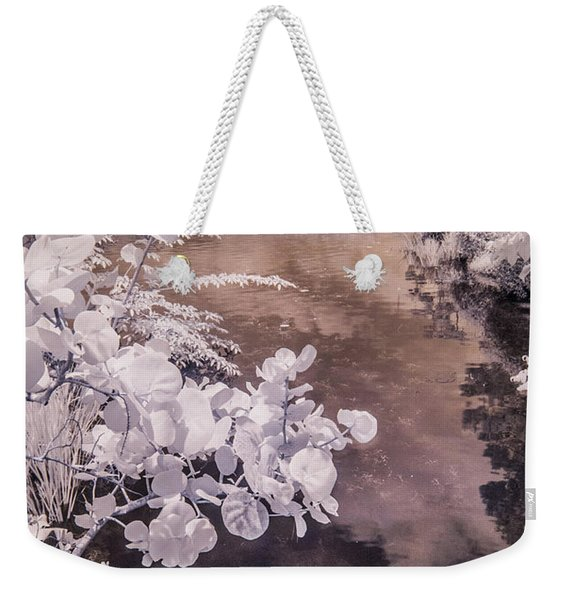 Lake Shadows Weekender Tote Bag