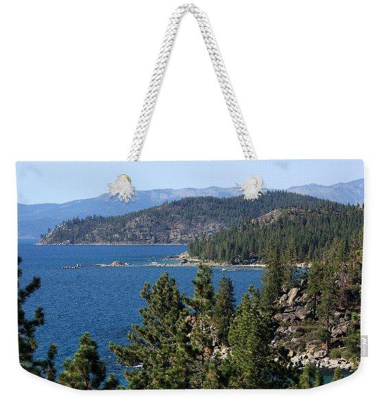 Lake Tahoe Nevada Weekender Tote Bag