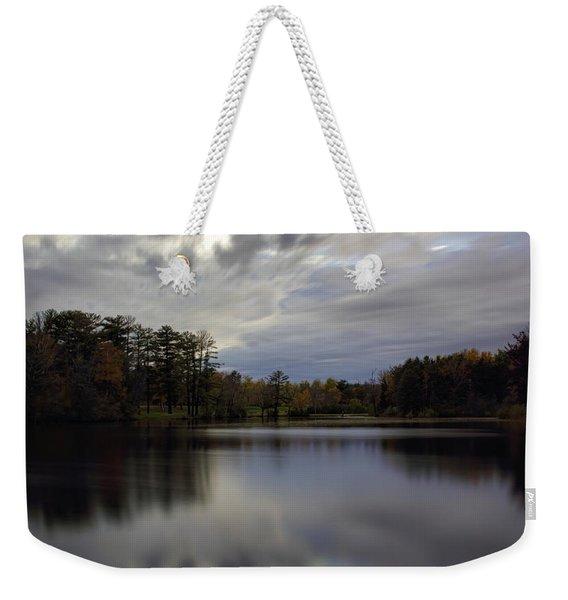 Lake Wausau's Bluegill Bay Park Weekender Tote Bag