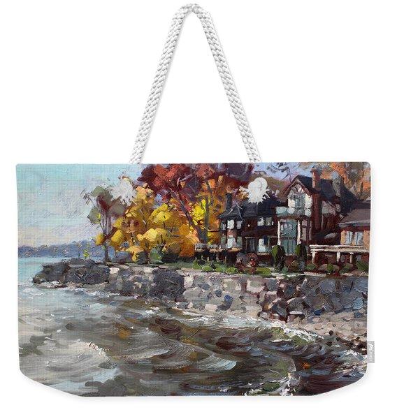Lakeshore Mississauga Weekender Tote Bag