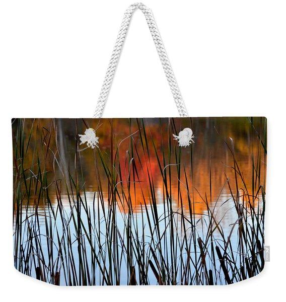 Lakeside Tales Weekender Tote Bag