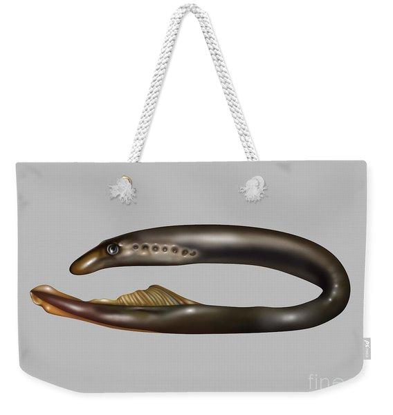 Lamprey Eel, Illustration Weekender Tote Bag