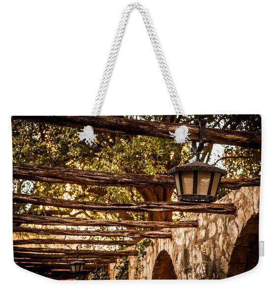 Lamps At The Alamo Weekender Tote Bag
